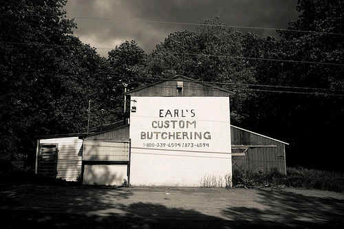 Earl's Custom Butchering, Albion, Maine